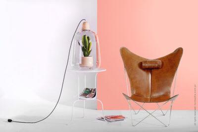 lampa i fotel